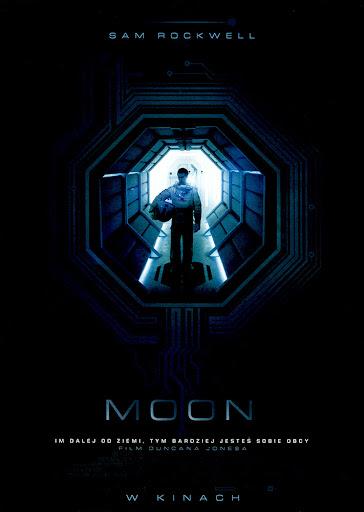 Przód ulotki filmu 'Moon'