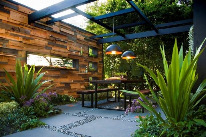 Giá thiết kế sân vườn phụ thuộc vào nhiều yếu tố khác nhau