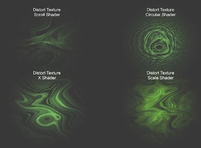 Particle Distort Texture Shader documentation