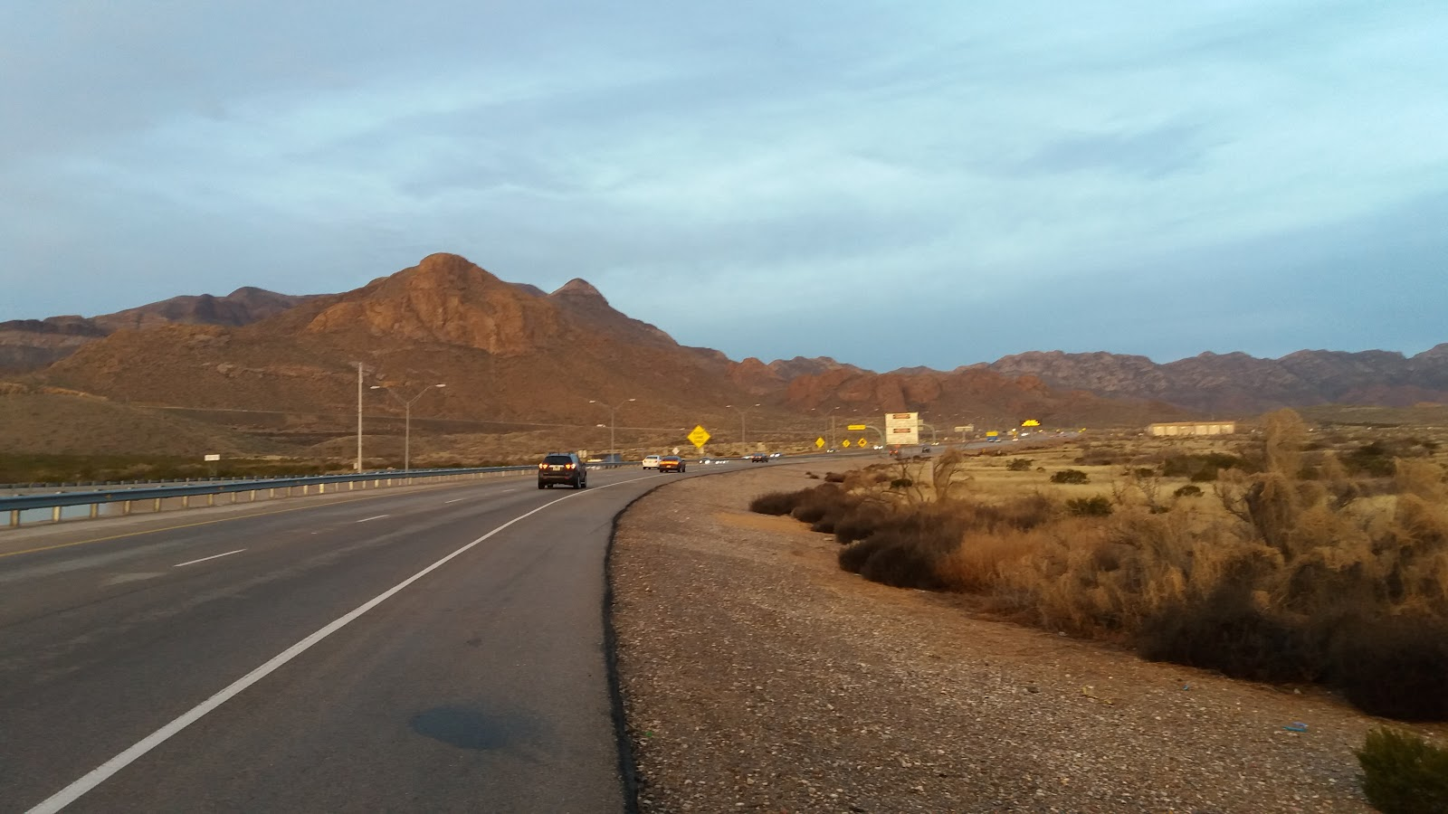 Cycling Smugglers Pass East - Transmountain Drive - Hwy 375and start of climb