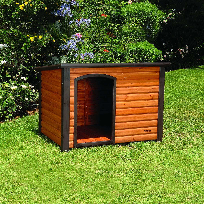luxury dog houses log cabin