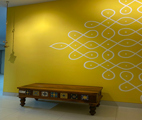 Contemporary Functionality, Traditional Aesthetic - 3 BHK Interior Project by D'Galleria