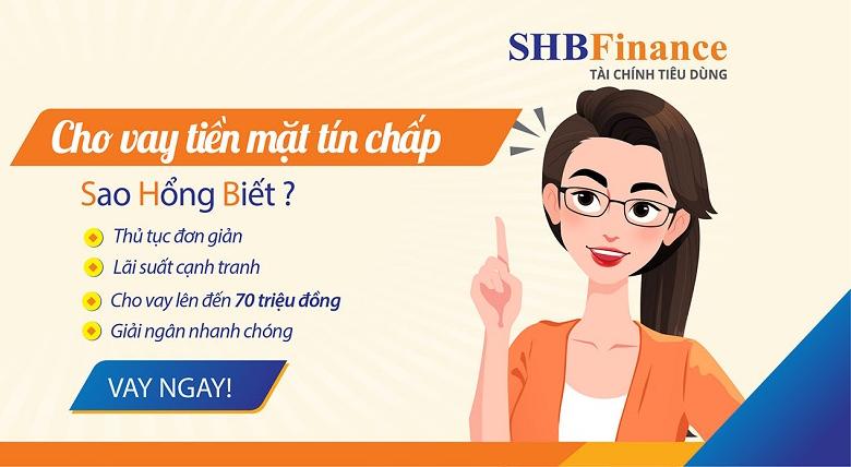 Vay tín chấp shb finance giúp người vay đảm bảo quyền lợi của mình trong quá trình vay