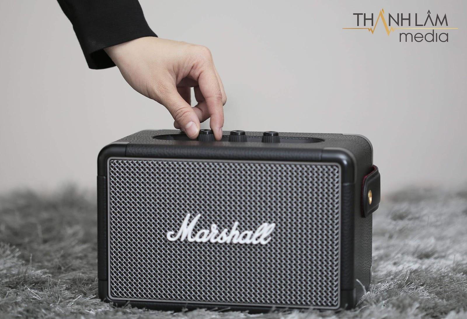 Review đánh giá loa Marshall Kilburn 2 - thiết bị âm thanh của thời đại 8