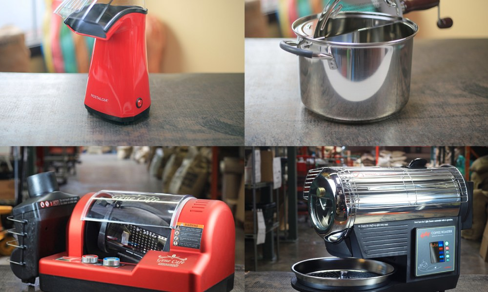 different types of home roasters