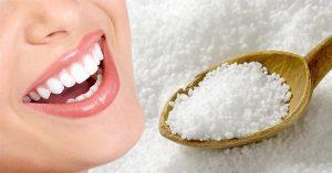 Cách làm trắng răng bằng muối diệt mảng bám và vi khuẩn