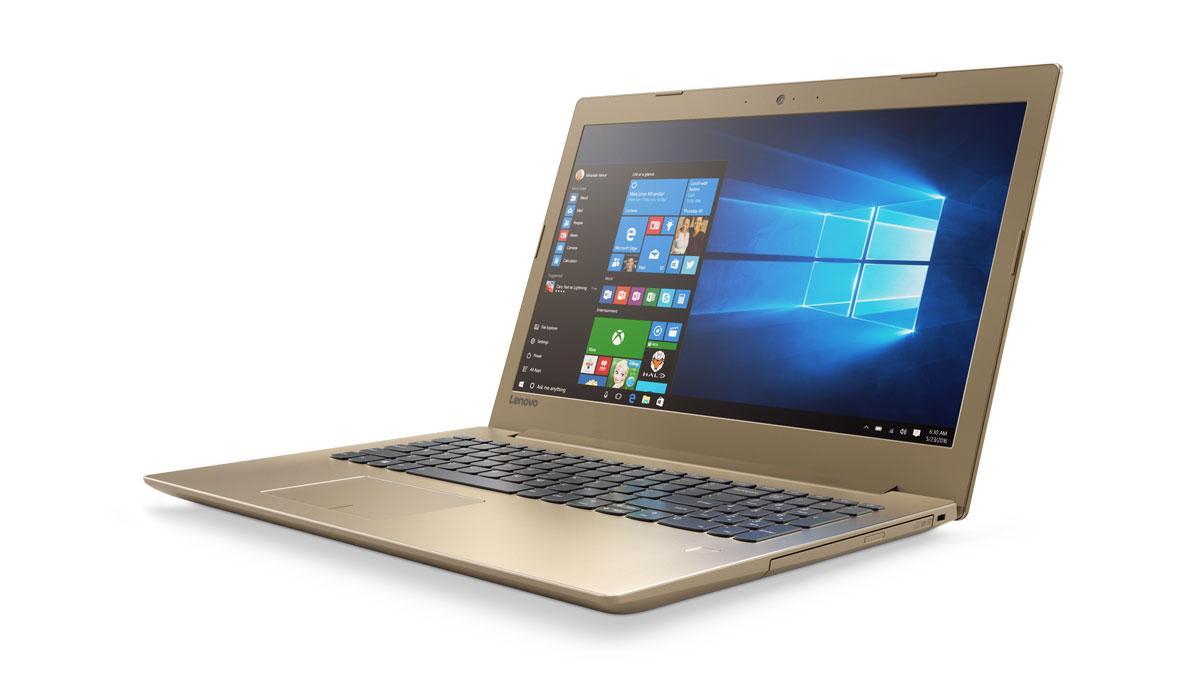 Фото 1 - Ноутбук Lenovo IdeaPad 520-15IKB Golden (81BF00EJRA)