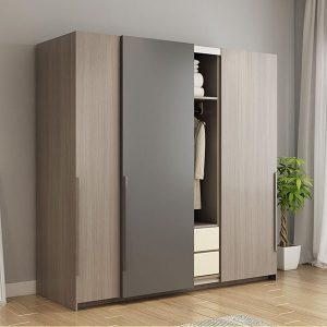 Tủ để quần áo gia đình phong cách hiện đại GHS-5566