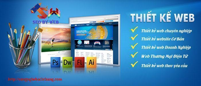 thiết kế web chuyên nghiệp tại thái bình