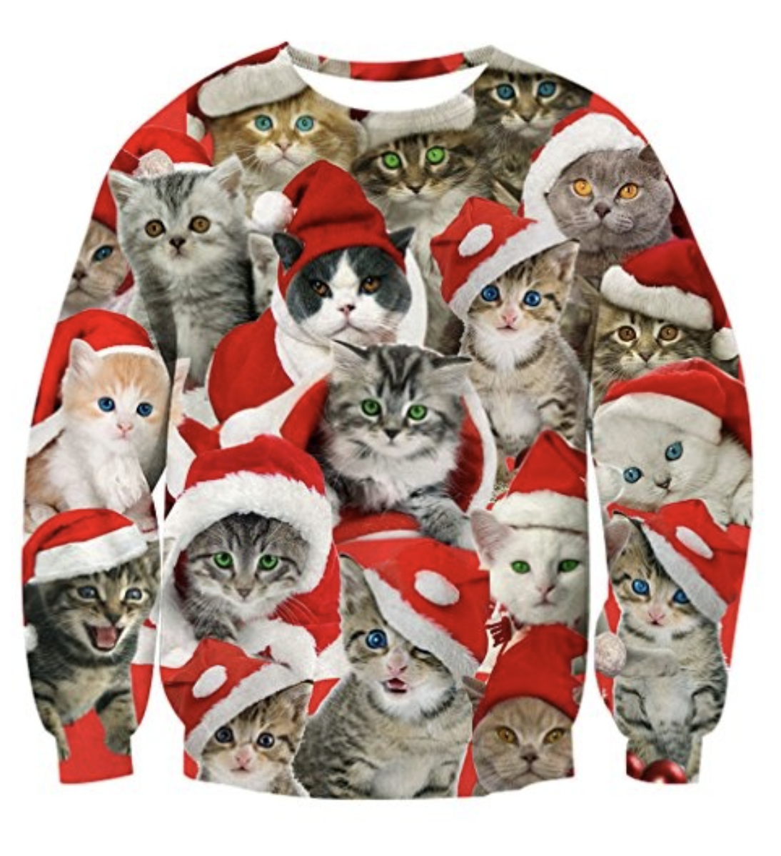 Cat-Holiday-Sweater