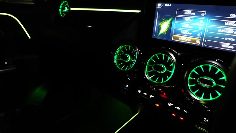 จุดเด่นของรถยนต์ : Mercedes Benz GLA 200 AMG Dynamic 05