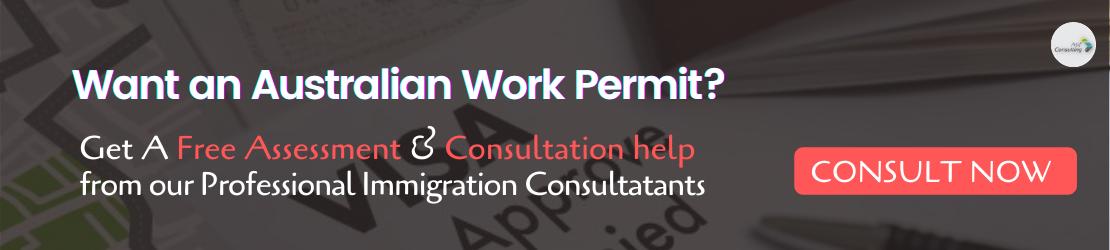 Australian work permit visa consultation