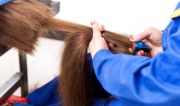 Raw-hair-processing