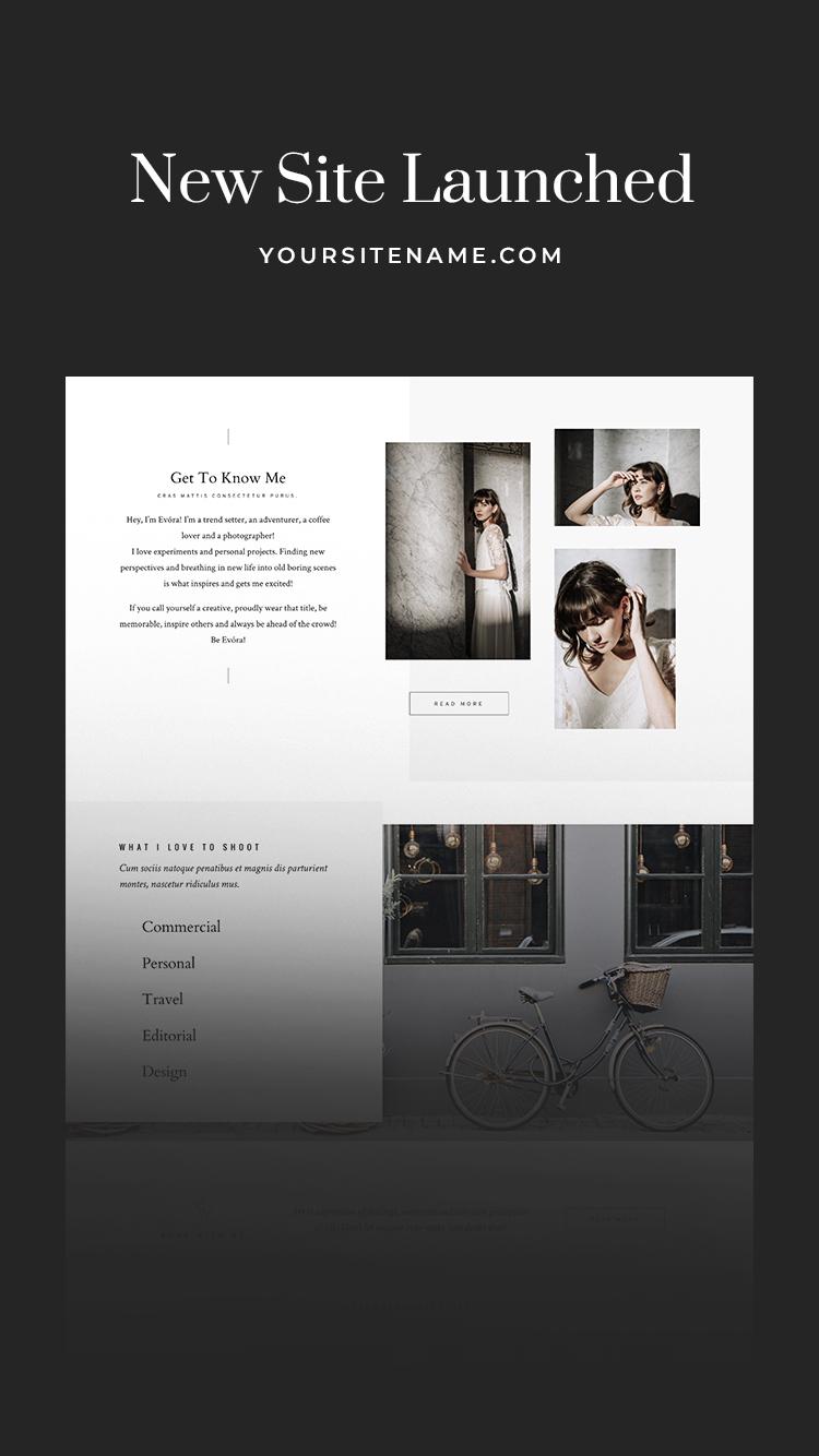Flothemes Website Announcement 2 Instagram Stories Templates