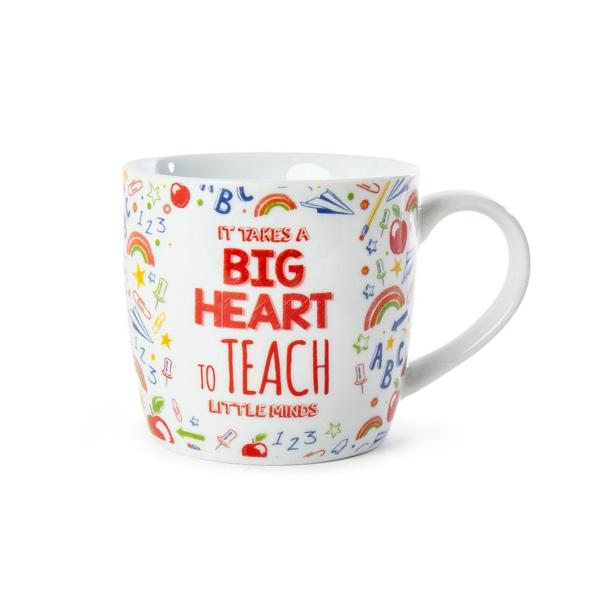 Clintons It Takes Big Hearts To Teach Little Minds mug