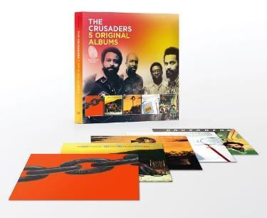 「The Crusaders / 5 Original Albums」的圖片搜尋結果