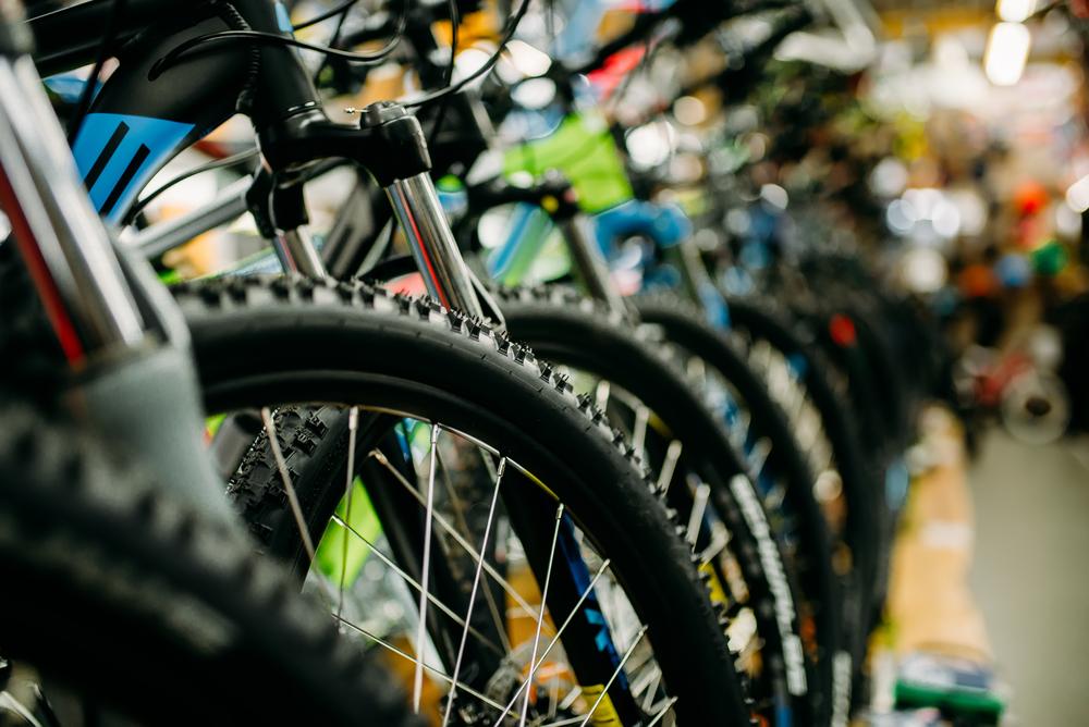 Entre os modelos mais procurados estão as bicicletas de entrada, usadas nas cidades e para atividades físicas e de lazer. (Fonte: Shutterstock)