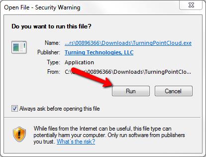 TurningPoint Run File