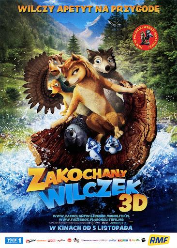 Przód ulotki filmu 'Zakochany Wilczek'