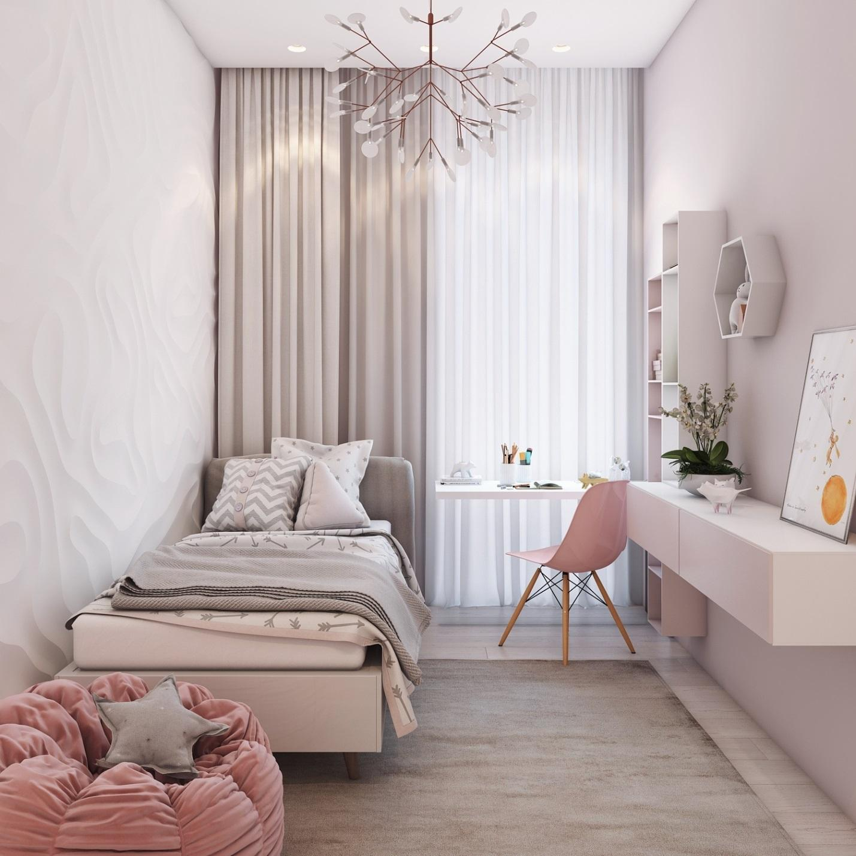 Không gian phòng ngủ nhỏ đẹp