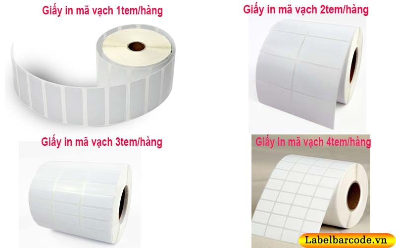 Các loại giấy decal in tem nhãn mã vạch phổ biến hiện nay
