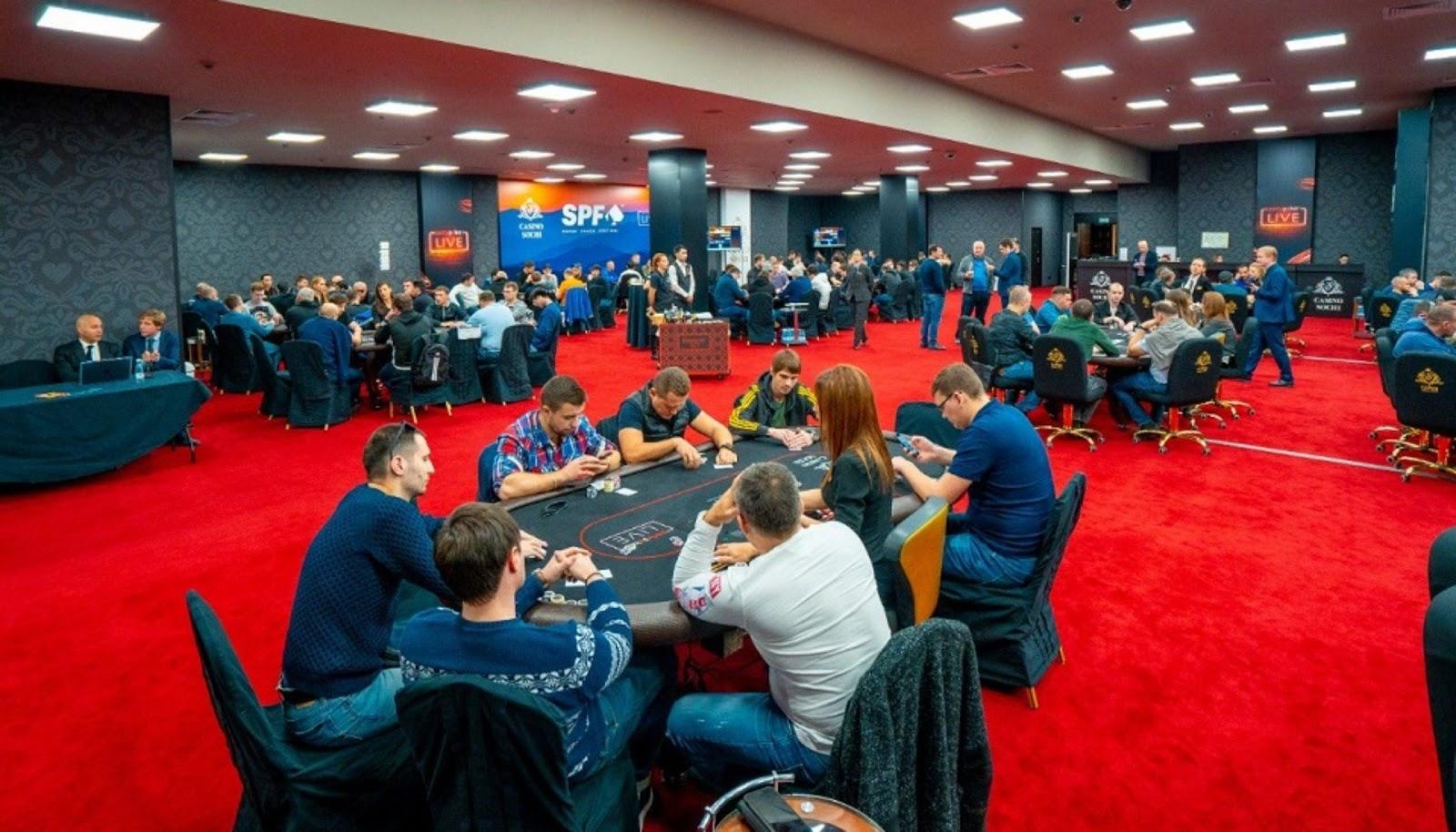 В «Казино Сочи» стартует Sochi Poker Festival Spring - Timelottery