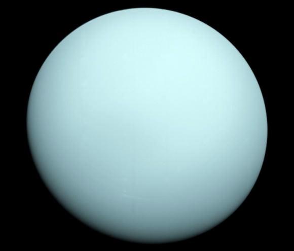 Uranus as seen by NASA's Voyager 2. Credit: NASA/JPL