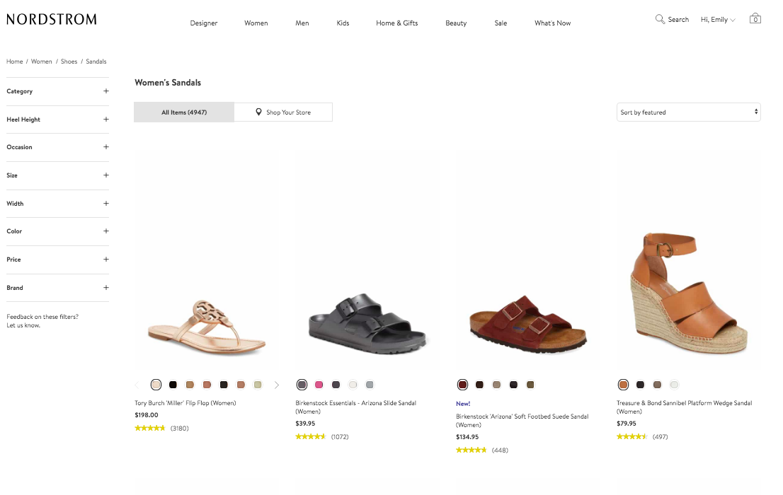 How Brands Integrate Content on their eCommerce Category Pages