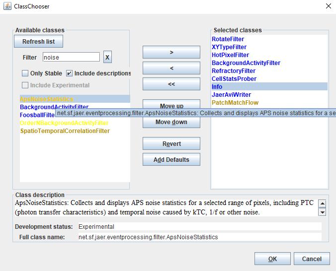 User Guide: jAER | iniVation