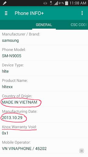 Phone INFO+ ★Samsung★- screenshot thumbnail