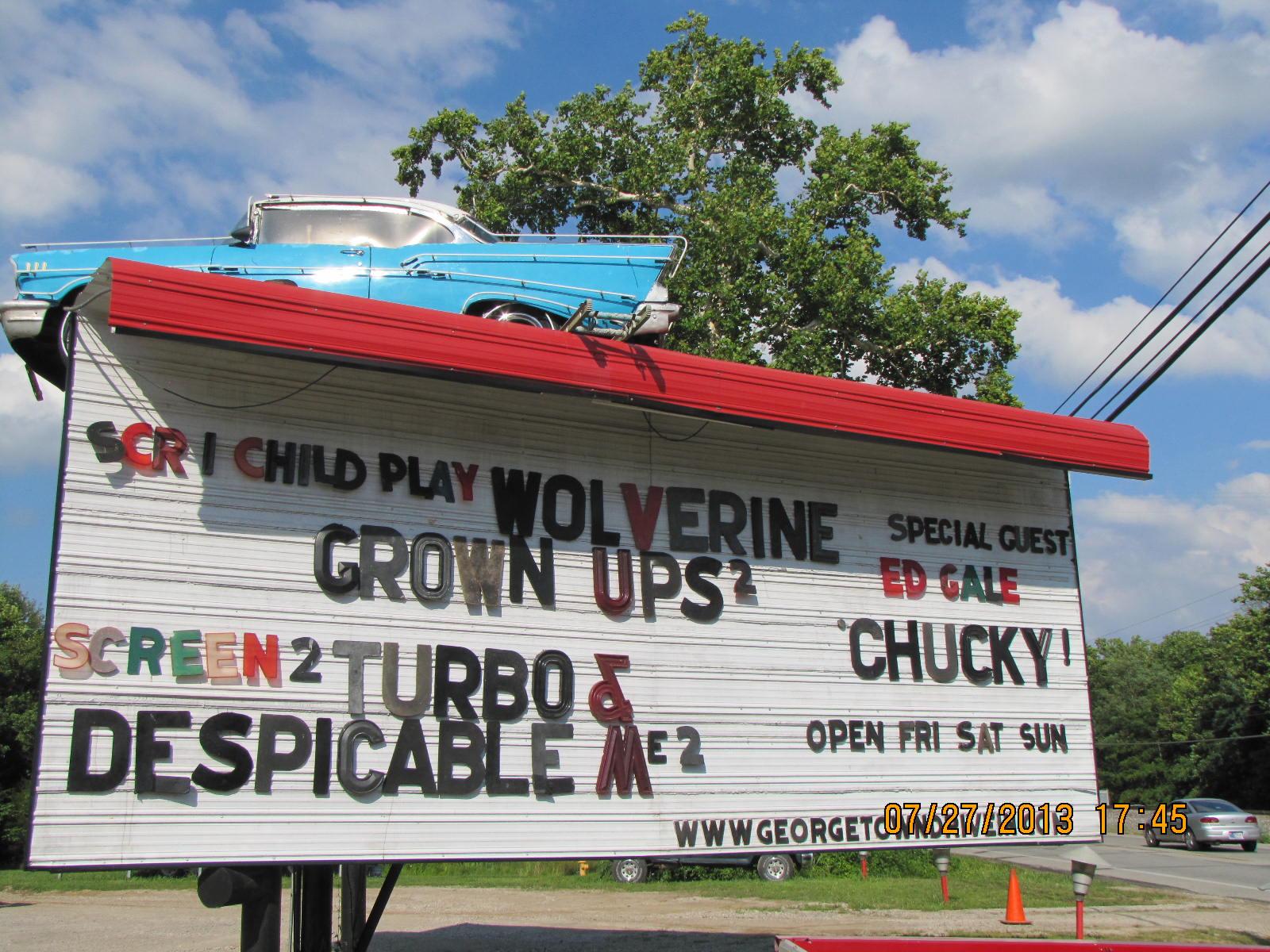 Georgetown drive in opening weekend for Georgetown movie theater