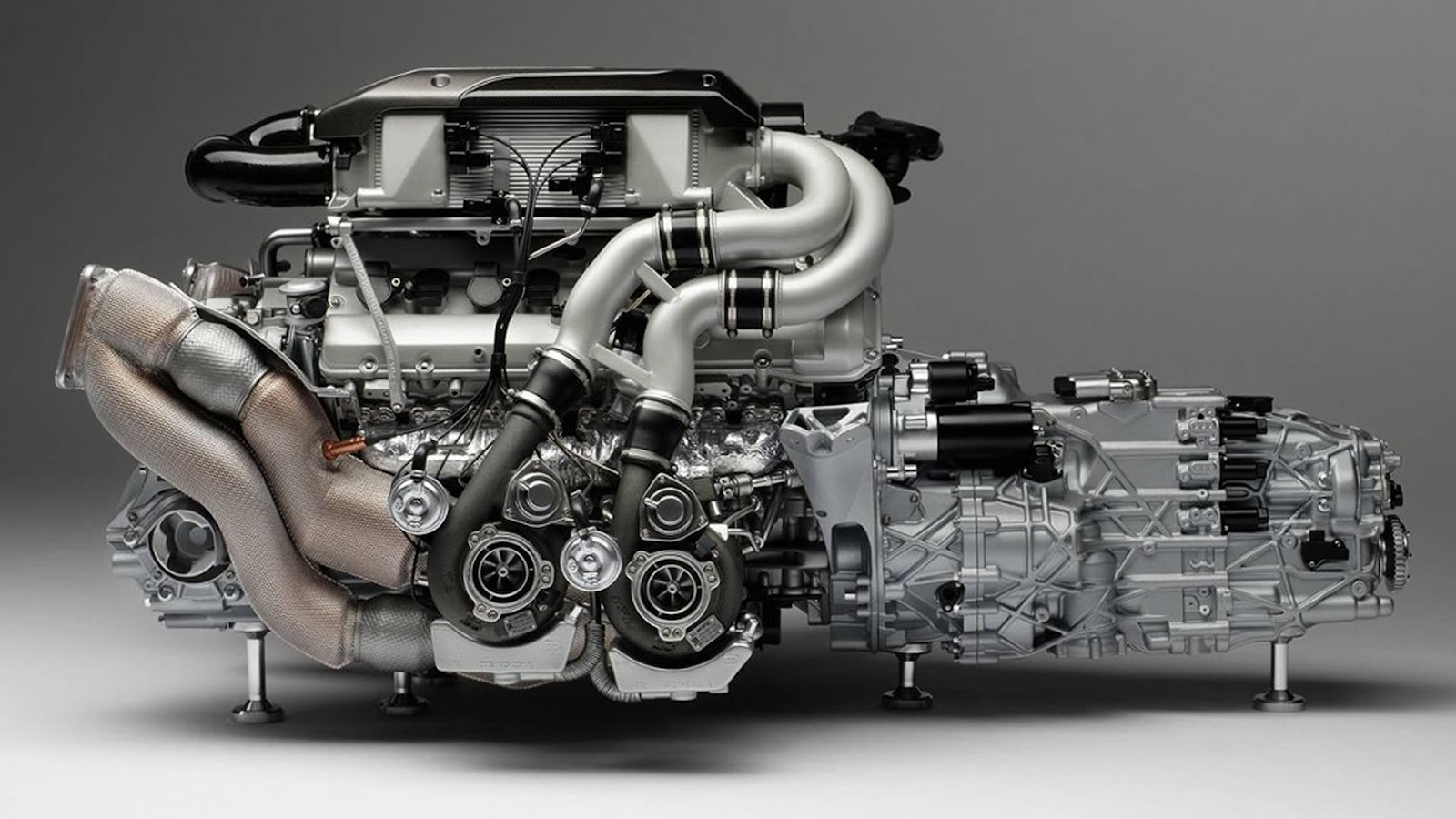 Image result for engine of Bugatti Chiron