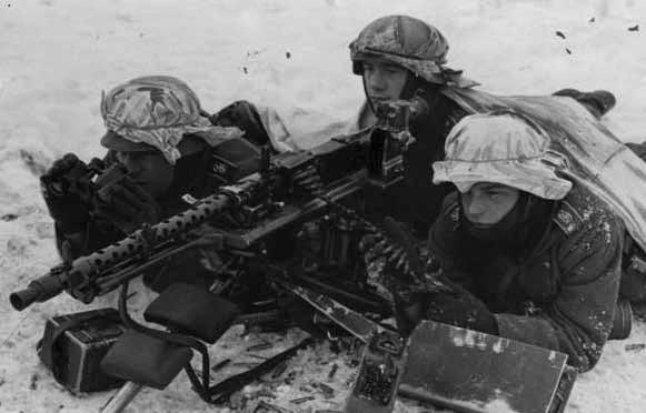 Русская зима и вермахт