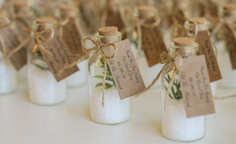 sea salt wedding favor