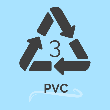 plastic recycling number 3 -PVC