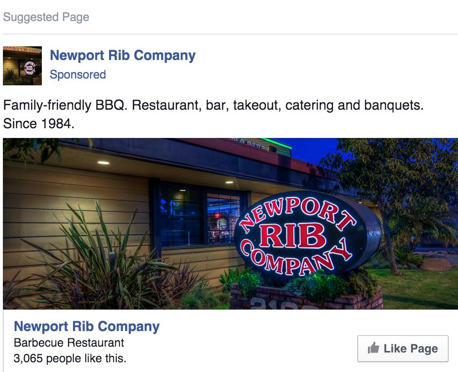 Tài khoản quảng cáo trên Facebook business