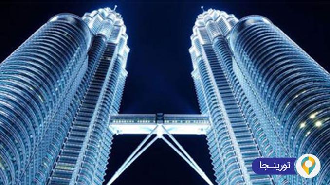 برجهای دوقلوی پتروناس در کوالالامپور