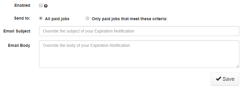 New Feature: Expiration Notifications