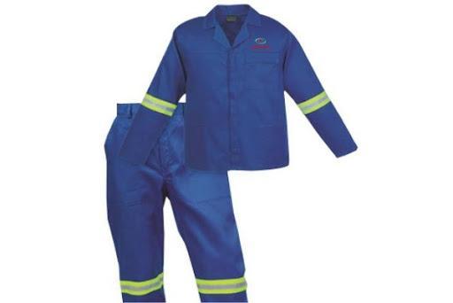 Size quần áo bảo hộ lao động chuẩn