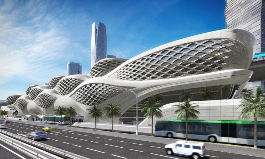 Sistema de metrô em Riad chegará para oferecer uma melhor qualidade de vida à população. (Fonte: Arch Daily/Reprodução)