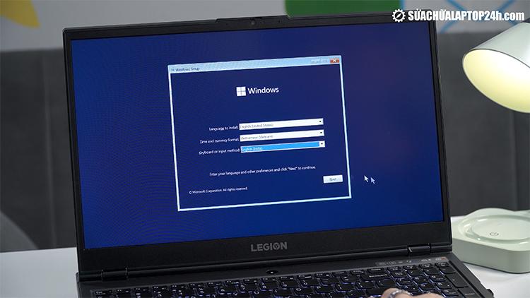Thiết lập cài đặt cho Windows 11