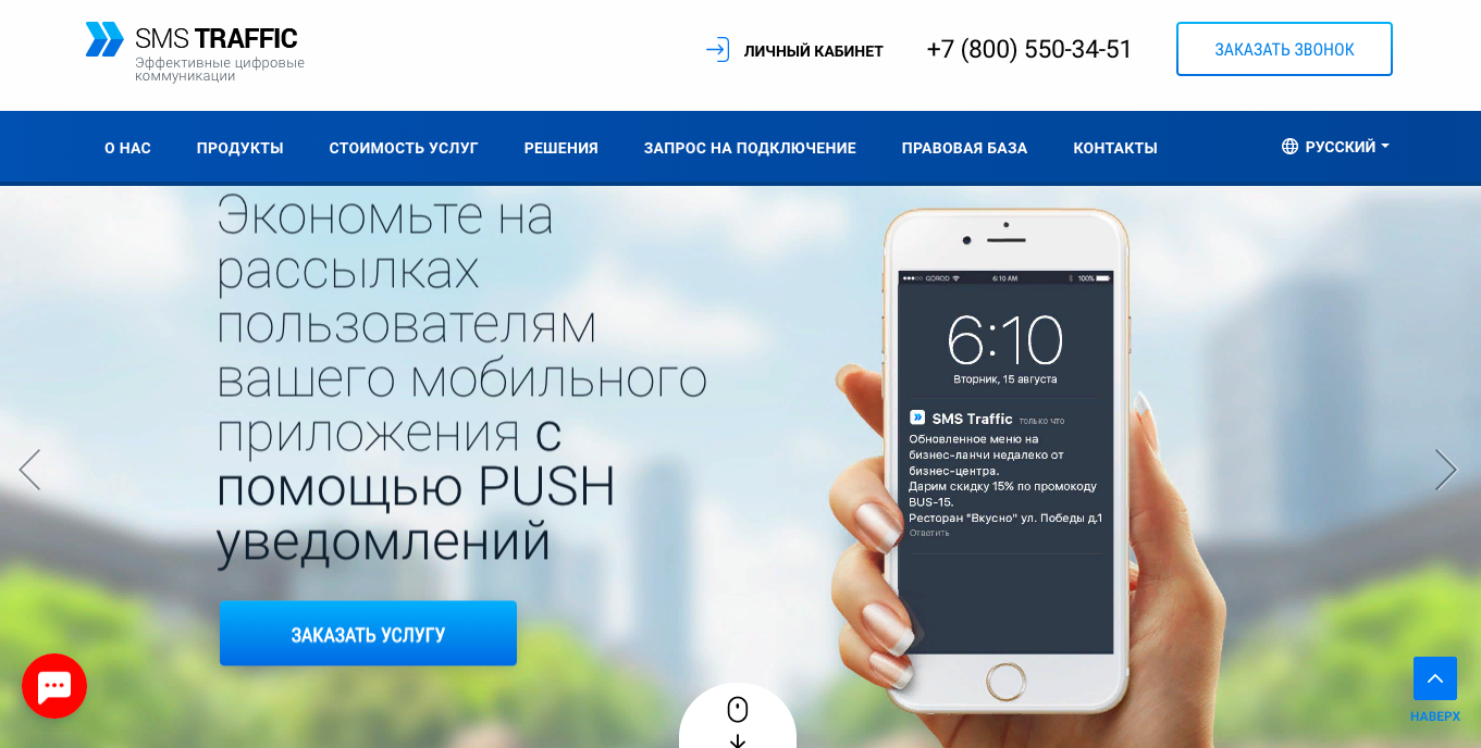 SMS Traffic