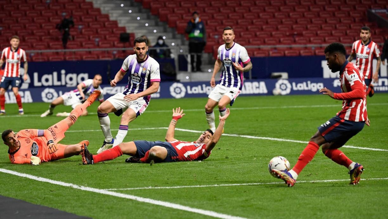 Real Valladolid từng thua Atletico Madrid 0-2 ở trận lượt đi mùa này.