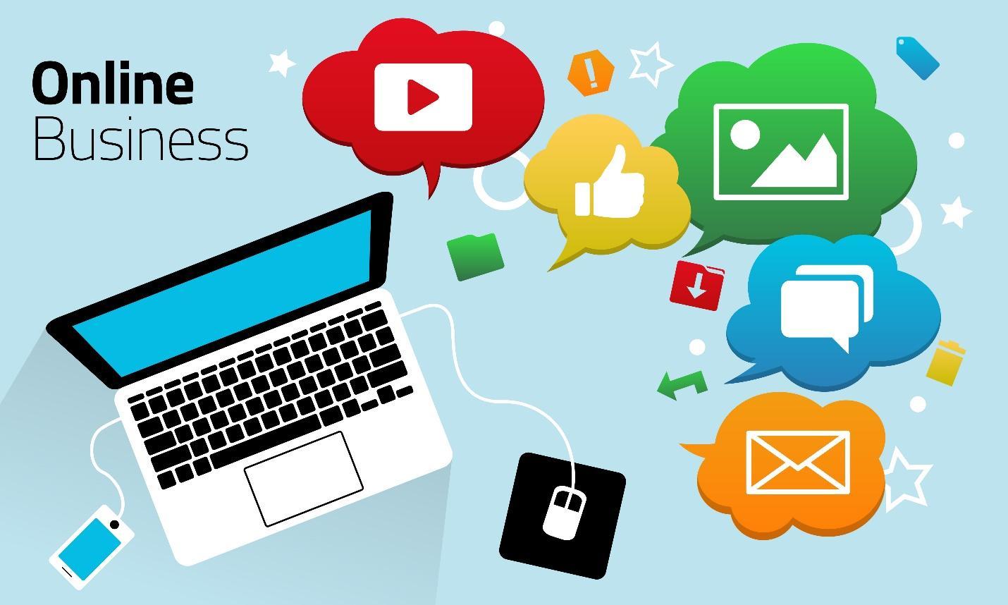 Kinh doanh online và các công cụ bán hàng hiệu quả