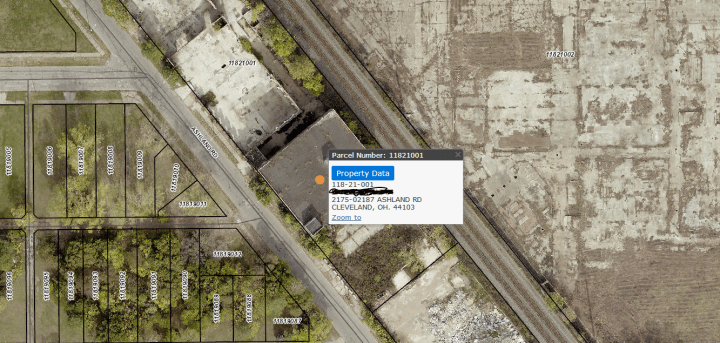 how to find abandoned places using GIS