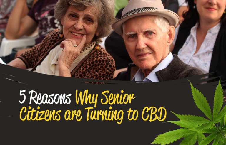 5 Reasons Why Senior Citizens Are Turning to CBD