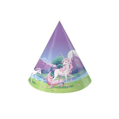 Discount Party Supplies Unicorn Fantasy 8 Pack Hats