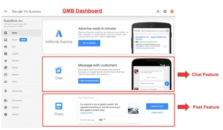 Google My Business Updates 2017