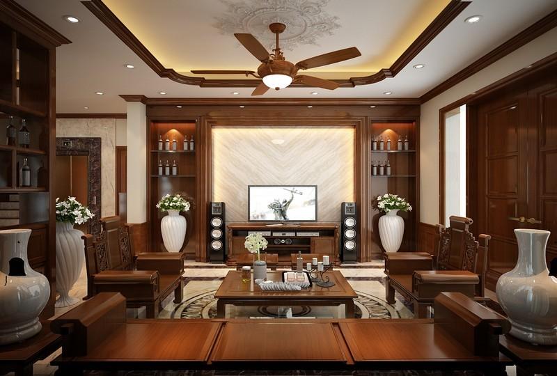 Dịch vụ thiết kế nội thất phòng khách hiện đại