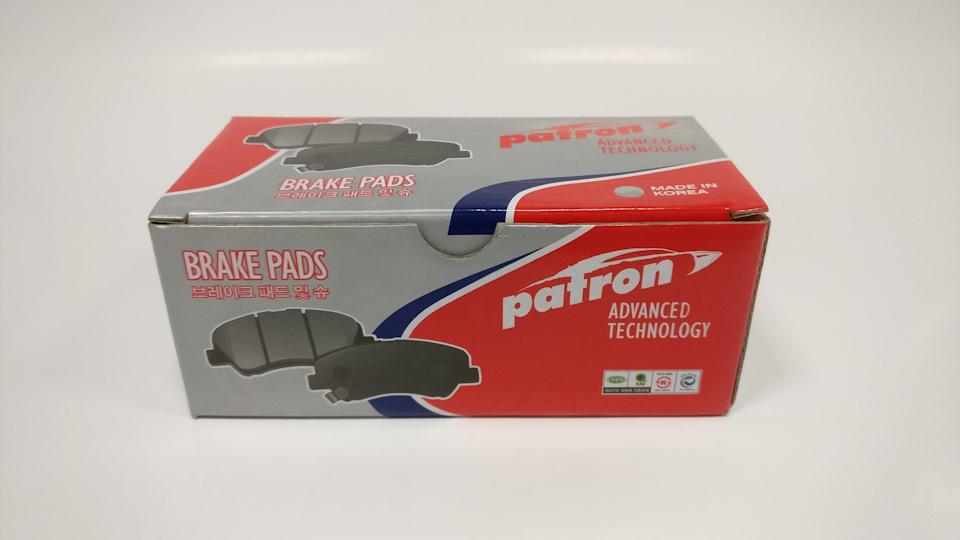Упаковска тормозных колодок Патрон